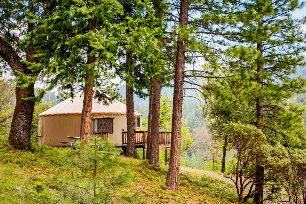 Yurt at Mt. Hood RV Resort