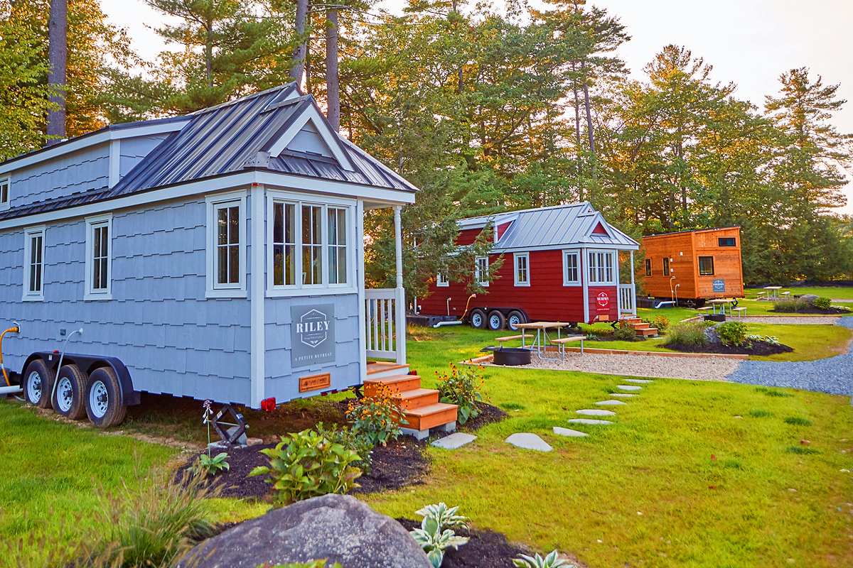 Tuxbury Tiny House Village | South Hampton, NH