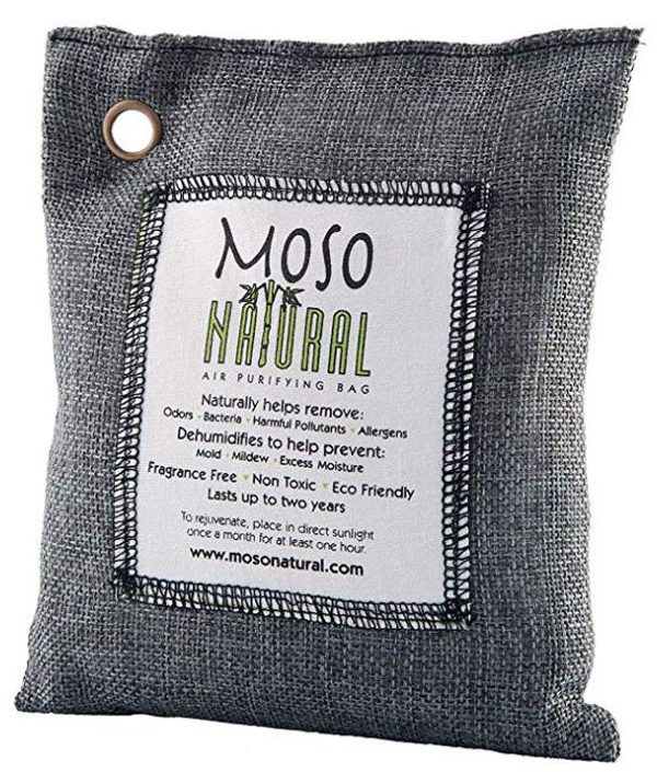 MOSO Natural Air Purifying Bag, $8.95- $22.95, mosonatural.com