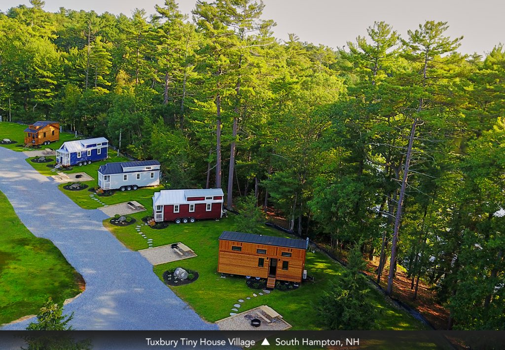 Tuxbury Tiny House Village - South Hampton, NH