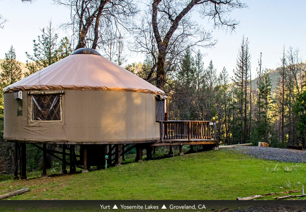 Yurt Yosemite Lakes Groveland, CA