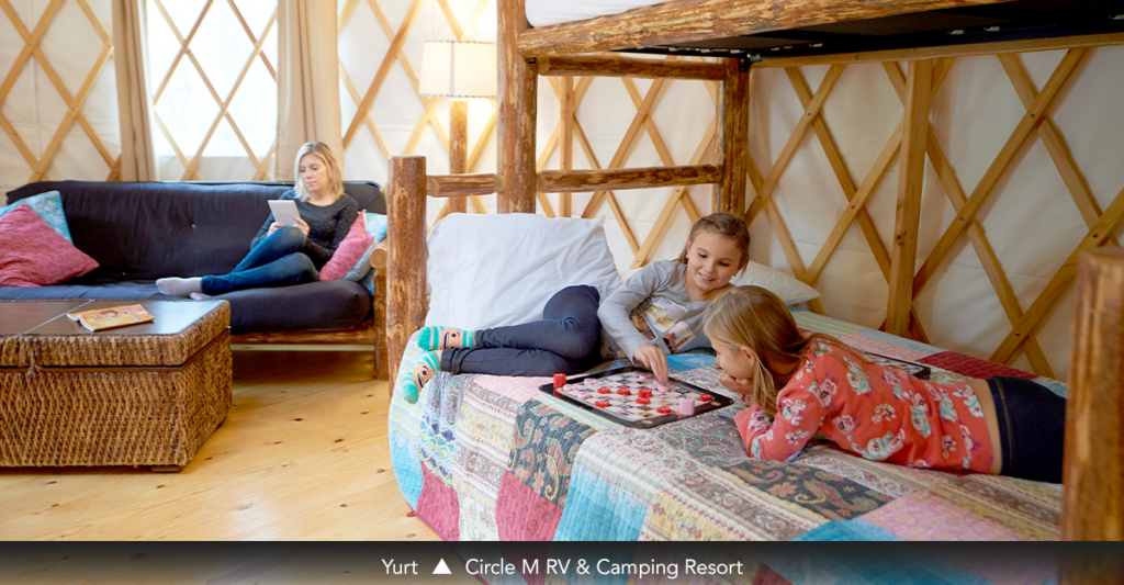 Yurt • Circle M RV & Camping Resort