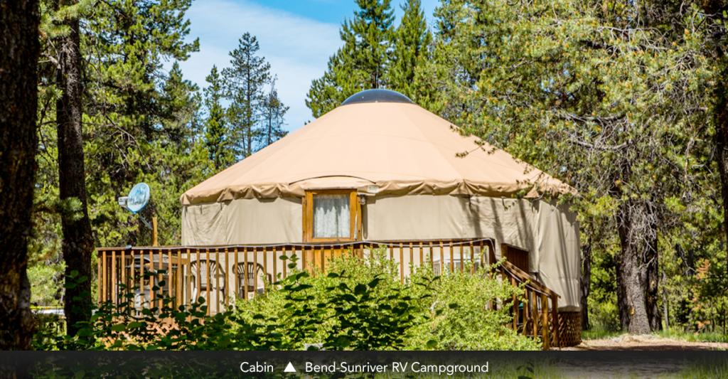 Cabin • Bend-Sunriver RV Campground