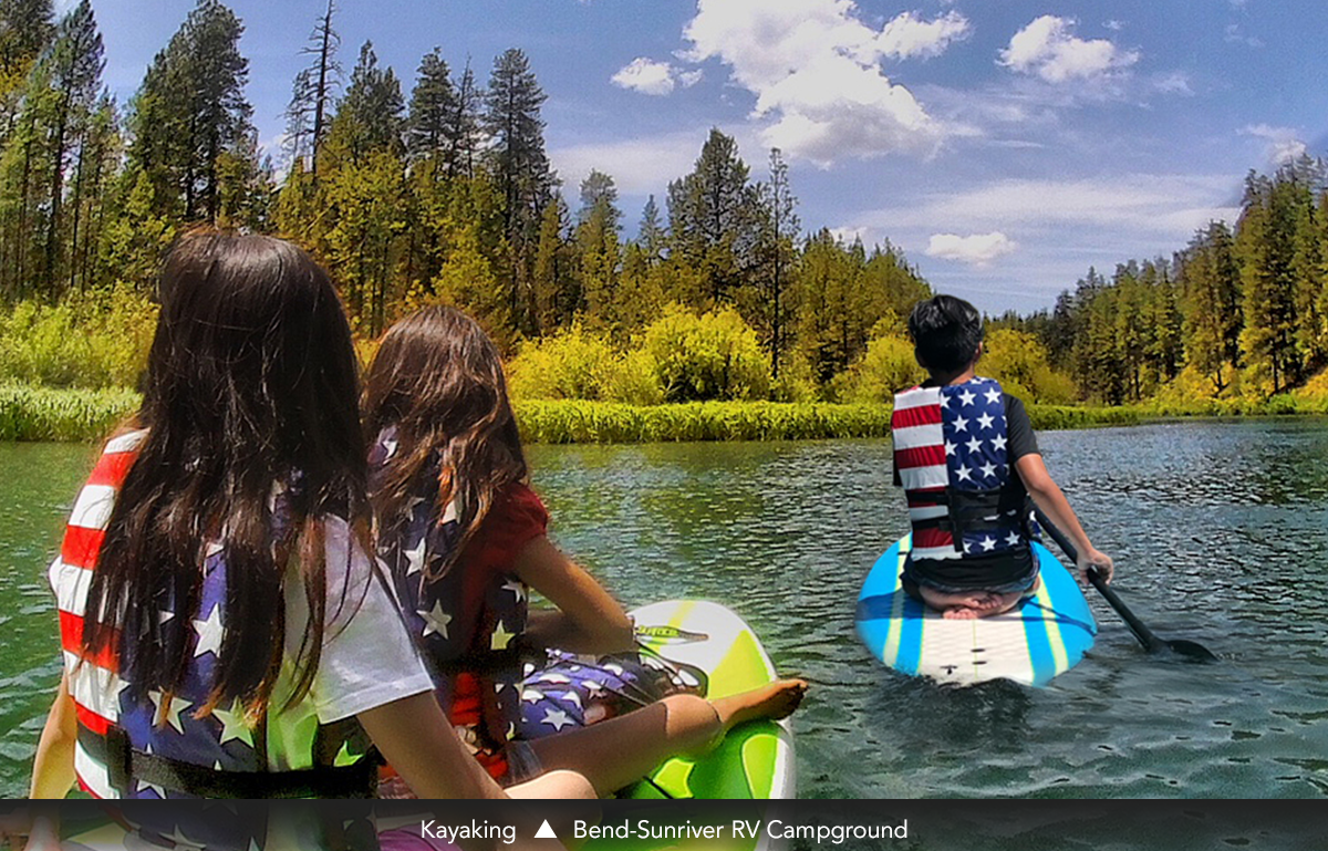 Kayaking • Bend-Sunriver RV Campground