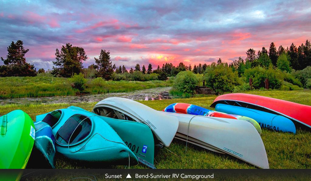 Sunset • Bend-Sunriver RV Campground