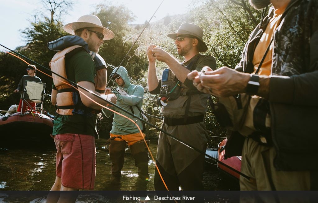 Fishing • Deschutes River