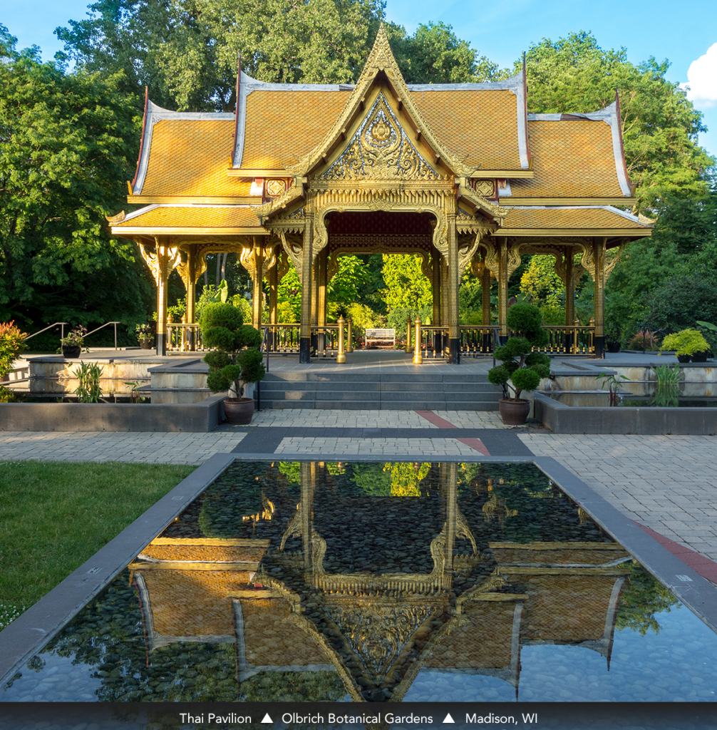 Thai Pavilion • Olbrich Botanical Gardens • Madison, WI