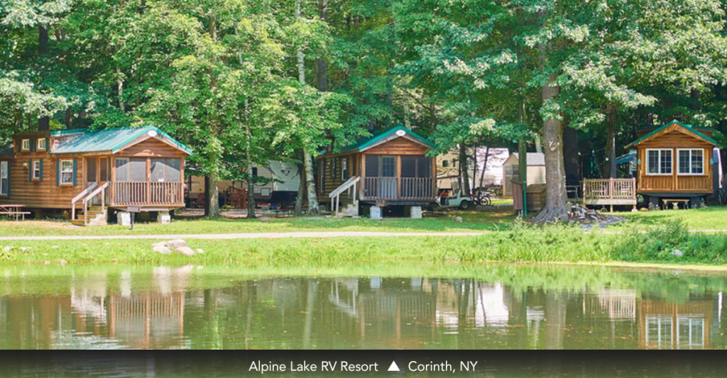 Alpine Lake RV Resort • Corinth, NY