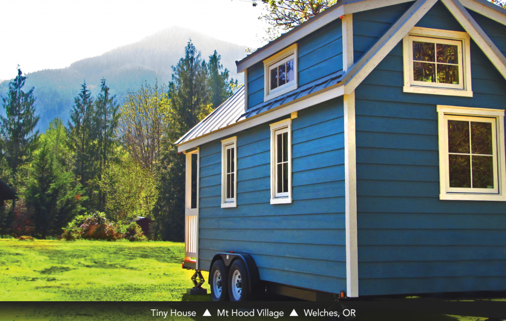 Tiny House • Mt Hood Village • Welches, OR