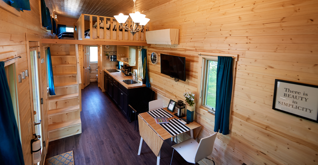 Tuxbury Tiny House Village • Interior Emerson