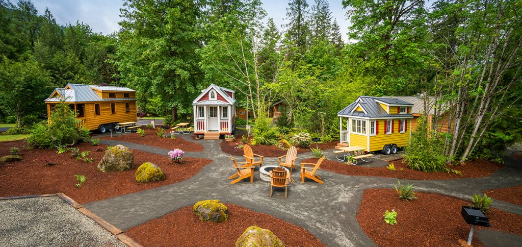 Mt Hood Tiny House Village Tumbleweed