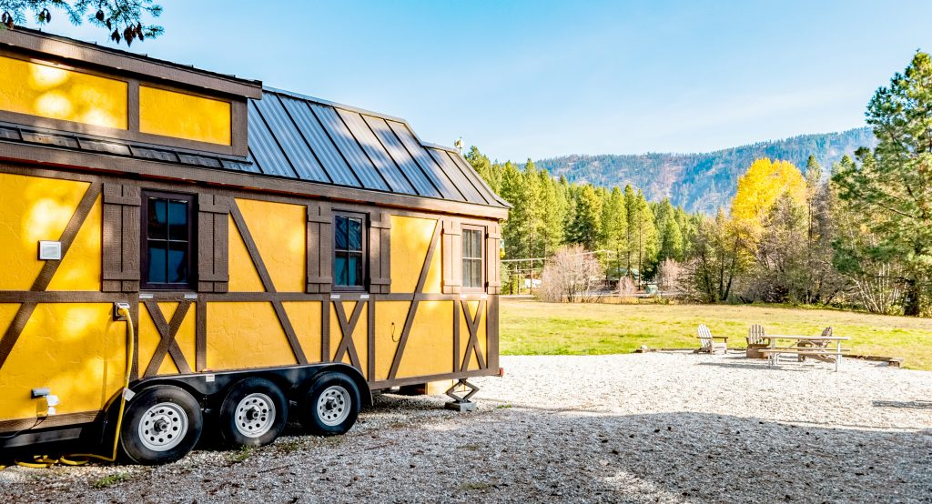 Leavenworth Tiny House Village • Otto
